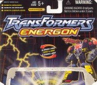 Energon - Strongarm - Package art