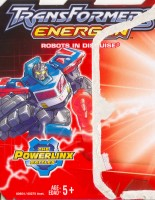 Energon - Tow-line - Package art