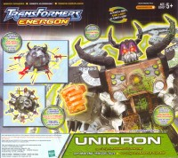 Energon - Unicron w/ Dead End - Package art