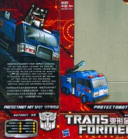 Generations - Protectobot Hot Spot  (GDO China Import) - Package art
