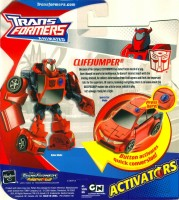 Animated - Activators Cliffjumper - Package art