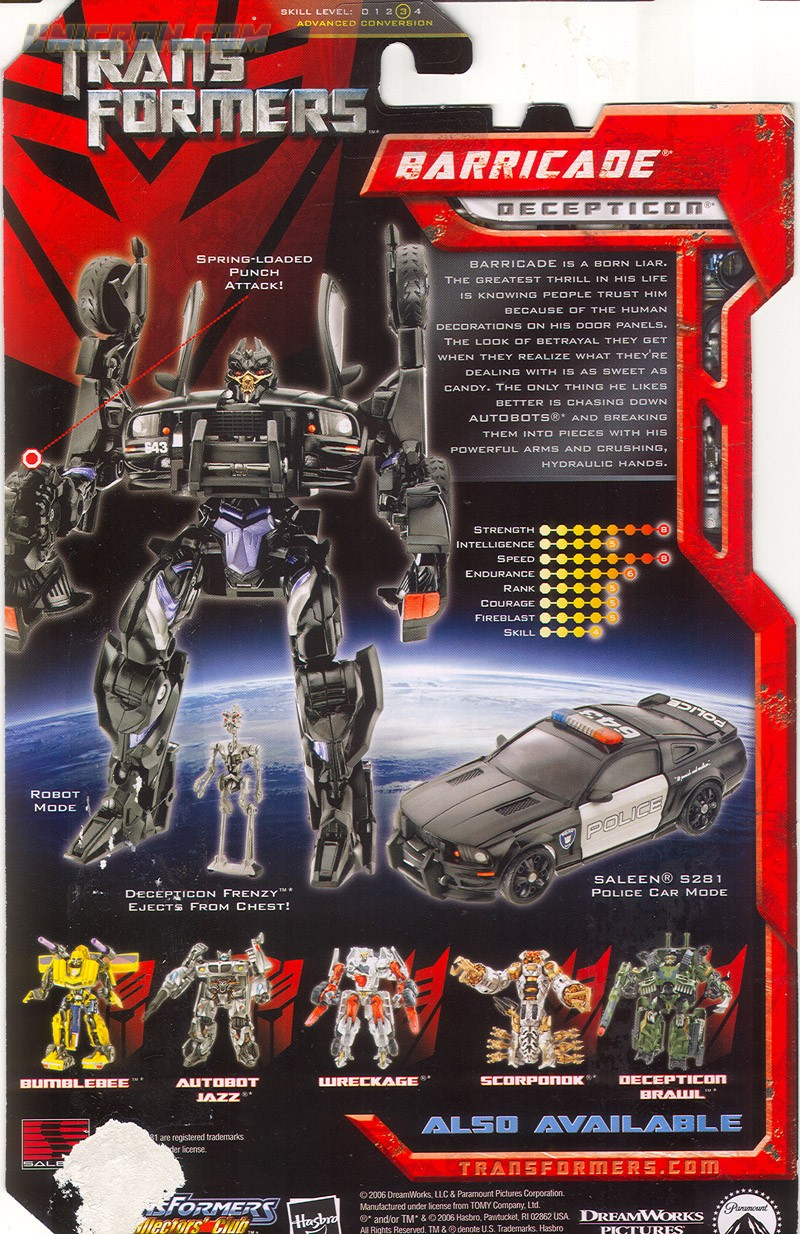 Transformers Decepticons Names  More information