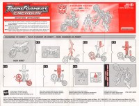 Energon - Energon Kicker with High Wire - Instructions