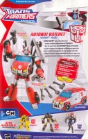 Animated - Autobot Ratchet - Package art