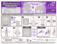 Energon - Insecticon - Instructions