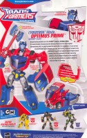 Animated - Cybertron Mode Optimus Prime - Package art
