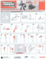 Animated - Cybertron Mode Optimus Prime - Instructions