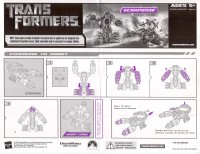 Movie - Screen Battles Desert Attack Scorponok w/ Robert Epps, Jeorge Figueroa, Patrick Donnelly - Instructions