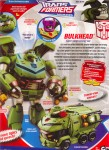 Animated - Bulkhead (with Headmaster) - Package art