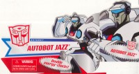 Animated - Autobot Jazz - Package art