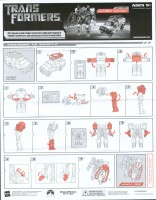 Movie - Autobot Ratchet - Instructions