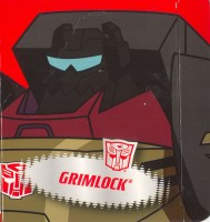 Animated - Grimlock - Package art