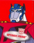 Animated - Optimus Prime (Earth Mode) - Package art