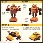 G1 - Bumblebee - Instructions
