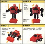 G1 - Cliffjumper - Instructions