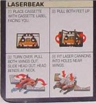 G1 - Frenzy and Laserbeak - Instructions