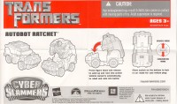 Movie - Cyber Slammers Autobot Ratchet - Instructions
