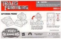 Movie - Cyber Slammers Optimus Prime - Instructions
