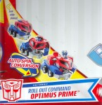 Animated - Roll Out Command Optimus Prime - Package art