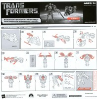 Movie - Arcee (Exclusive Battle Damage) - Instructions