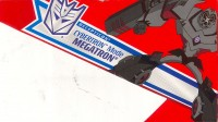 Animated - Cybertron Mode Megatron - Package art