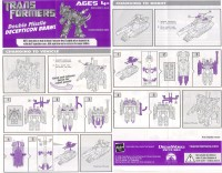 Movie - FAB Double Missle Decepticon Brawl - Instructions