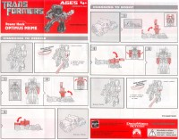 Movie - Optimus Prime - Power Hook - Instructions
