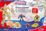 Animated - Stealth Lockdown (with Bumblebee & Optimus Prime, Target exclusive) - Package art