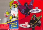 Animated - Rescue Ratchet (with Prowl & Starscream, Target exclusive) - Package art
