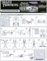 Transformers Instructions Megatron Transformers Movie Megatron