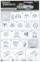 Movie - Starscream - Instructions